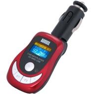 August CR150 Lettore MP3 e Trasmettitore FM con lettore di schede / USB-Port / Telecomando