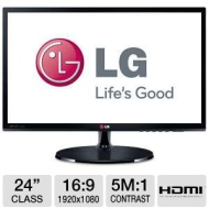 LG 24EA53V-P - 24 inch Class Slim IPS LED Monitor
