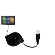 Garmin VIRB / VIRB Elite compatible Gomadic Multi Port Mini DC Auto / Vehicle Charger - One Charger with connections for two devices using upgradeable