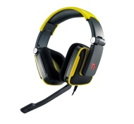 Tt eSPORTS HT-SHK002ECBU Thermaltake SHOCK Gaming Headset, Blue