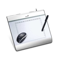 Genius I608X 6X8 USB Tablet with Mouse and Pen