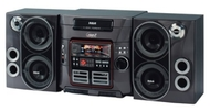 RS2625 Mini Hi-Fi System - 150 W RMS (2 Cassettes - 32 Channels - AM, FM - 2 Speakers - MP3, CD-DA - Remote Control)
