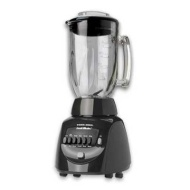 Black & Decker BL10450HB Crush Master 10-Speed Blender with 42-Ounce Glass Jar, Black