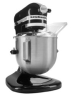 KitchenAid KSM500PSOB Pro 500 Series 10-Speed 5-Quart Stand Mixer, Onyx Black