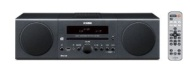 Yamaha MCR-B142DG - 30W Micro Component Bluetooth Wireless System with Apple® iPod®/iPhone® Dock - Dark Gray