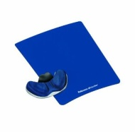 Fellowes Gliding Palm Support - Mouse pad with wrist pillow - sapphire