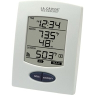 La Crosse Technology Wireless Temperature Station with Temperature Probe