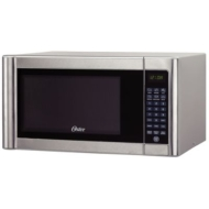 Oster 1.1 CuFt Plastic Digital Microwave Oven