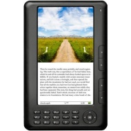"Ematic 7"" TFT Color eBook Reader - Black EB106"