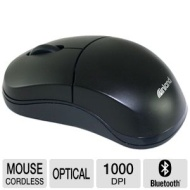 Pro 07347 Mouse (Optical - Wireless - Bluetooth - 1000 dpi - Scroll Wheel - 2 Buttons)