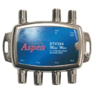 Eagle Aspen DTV3X4 DirecTV-Approved 3-In x 4-Out Multi-Switch