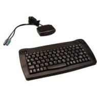 ADESSO ACK-573PB Black 88 Normal Keys IR Wireless Mini Wireless Mini Trackball keyboard