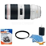 Canon EF 70-200mm f/2.8L II IS USM Telephoto Zoom Lens W/ B+W UV Filter