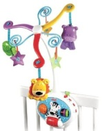 Fisher-Price Brilliant Basics 2-in-1 Activity Friends Mobile