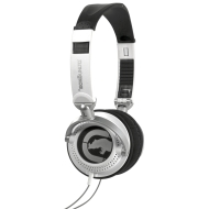 Marc Ecko Unltd EKU-MTN-WHT Motion Over-the-Ear Headphones (White)