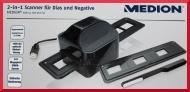 MEDION DIASCANNER 2 in1 Scanner für Dias und Negative MD 86774 1800dpi