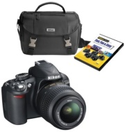 Nikon 14MP DSLR Camera with Camera Bag & DVD