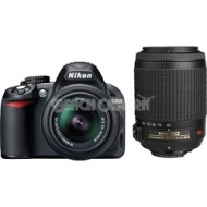 Nikon D3100 Digital SLR Kit w/ 18-55mm and 55-200mm VR Lenses Ultimate Nikon SLR