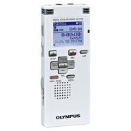 Olympus WS 400S - Digital voice recorder - flash 1 GB - WMA - display: 1.23""