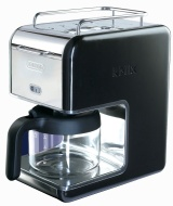 DeLonghi Kmix 5-Cup Drip Coffee Maker, Black