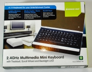 IOGEAR 2.4GHz Wireless Multimedia Keyboard/Mouse Combo GKM541R