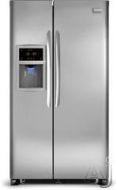 Frigidaire Freestanding Side-by-Side Refrigerator DGHS2634K