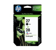 HP 27 28 Ink Cartridge Combo Pack
