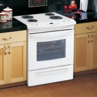Kenmore 30 in. Electric Self Clean Slide-In Range with Deluxe Coil Elements
