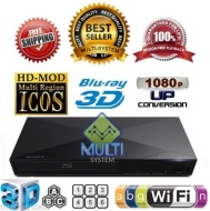 2014 Blu Ray Lecteur SONY BDP-S5200 2D/3D Wi-Fi Multi Region Zone Free Blu Ray DVD Player - PAL/NTSC - Worldwide Voltage 100~240V - 1 USB, 1 HDMI, 1 C