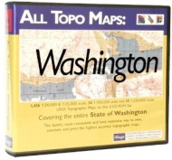 iGage All Topo Maps Washington Map CD-ROM (Windows)