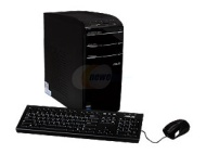 CM1831-US-3AB Desktop Computer - AMD FX-8120 3.10 GHz - Black (8 GB RAM - 1 TB HDD - DVD-Writer - ATI Radeon HD 3000 Graphics Card - Wi-Fi - Genuine W