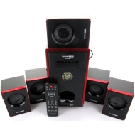 Acoustic Audio AA5103 5.1 Home Theater Surround Sound Speaker System