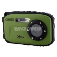 Coleman Xtreme C5WP 12MP 33ft. Waterproof Camera, Anti-Shake, Face Detection (Green)