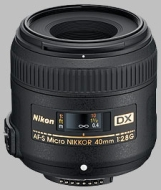 Nikon 40mm f/2.8G AF-S DX Micro NIKKOR Lens for Nikon Digital SLR Cameras