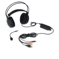 U12-41404 5.1 PC Gaming Headset - USB Powered 3.5mm Connectors Volume Controler w/ Removable Noise Canceling Microphone Ultra U12-41404 5.1 PC Gaming