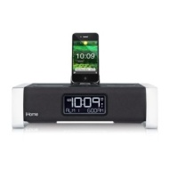 iHome App-Enhanced Alarm Clock with Bluetooth and FM Radio for iPad, iPhone and iPod