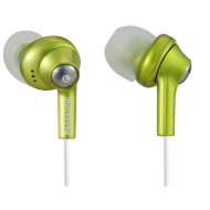 Panasonic RP-HJE270EGA Matching Headphones for iPod Nano - Green