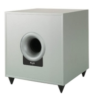 "KLH E-10DS 10"" 100-Watt Down-Firing Powered Subwoofer (Silver)"