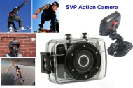 SVP® 720P HD Mini Action Helmet Camera Waterproof Sport Car DV Bike Camcorder