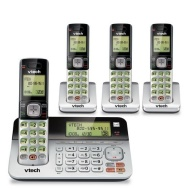 VTech CS6859-4 DECT 4-Handset Landline Telephone with Answering System
