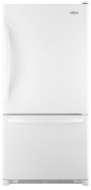 Whirlpool 21 cu. ft. Side-by-Side Refrigerator w/ Ice/Water Dispenser - Stainless Steel