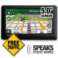 Garmin nvi 1450LMT 5-Inch Portable GPS Navigator with Lifetime Map & Traffic Updates