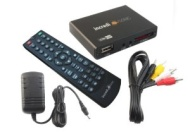IncrediSonic Ultra Play IMP150 - HD TV Digital Mini Media Player - 1080p - Play any file from USB HDDs/Flashdrives/Memory Cards