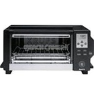 Krups FBC213 - 1600 Watts 6 Slice Toaster Oven with Convection Cooking (Black)
