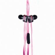 DigiPower EKU-LCE-PK Ecko Lace Pink Earbud + mic