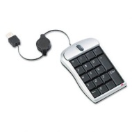 3M Optical Mouse with Numeric Keypad LX451