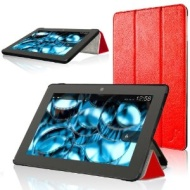 "ForeFront Cases® Der Neue Kindle Fire HDX 8.9"" Rotierend / Drehbar Kunstleder Hülle Schutzhülle / Ständer PASST NUR Der Neue Kindle Fire HDX 8.9 Ok"