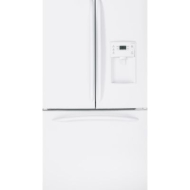 GE Profile PFCS1NFW 20.9 CuFt Bottom-Freezer Refrigerator