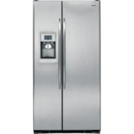 GE Profile 24.6 Cu. Ft. Counter-Depth Side-by-Side Refrigerator (stainless steel, Energy Star)