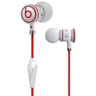 Monster Cable iBeats In-Ear Headphones with ControlTalk - White